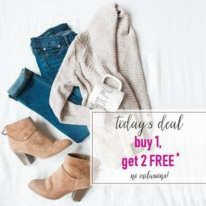 Sweaters - GET 2 FREE ITEMS WITH 1 ITEM PURCHASE